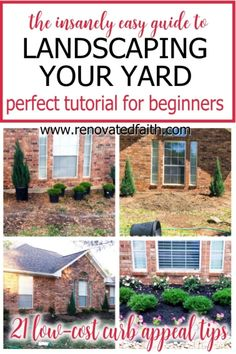 Here are step by step instructions on how to implement simple and cheap front yard landscaping ideas and how to find cheap landscaping plants. Learn how to simplify landscaping with free landscape design software and low maintenance garden ideas for beginners and where to find the right type of plants for your zone. Whether for outdoor living or to improve curb appeal, these garden ideas and best curb appeal hacks will ensure a beautiful outdoor space. Free Landscape Design, Landscape Design Software, Garden Design, Landscaping Plants, Front Yard Landscaping, Landscaping Ideas, Low Maintenance Landscaping, Low Maintenance Garden, Diy Décoration