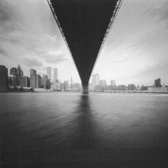 Stefan Killen | Pinhole New York Pinhole photograph of Brooklyn Bridge