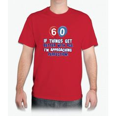 60 Year Old Birthday Designs - Mens T-Shirt