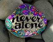 My Forever Friend / Painted Rock / Sandi Pike Foundas. $25.00, via Etsy.
