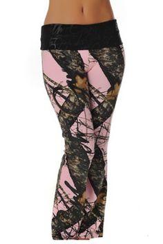 Mossy Oak Break Up® Script Lounge Pants from Girls with Guns Clothing