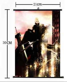 HOT Game Playstation FINAL FANTASY Wall Poster Scroll Home Decor Cosplay 622