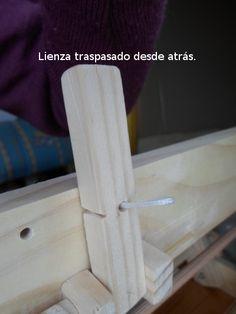 Los Shafts o cuadros de lizos para un telar, van agrupados dentro de una estructura normalmente rectangular, con dos pilares laterales ...