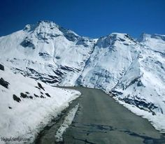 Rohtang Pass in Manali, India. It's only open for 5-6 months of an year
