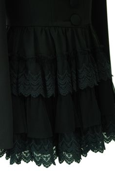 "Sheglit ""Corset jacket with tiered frill"""