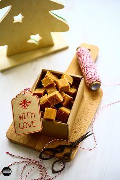 Cardamom and Cinnamon Caramel Fudge