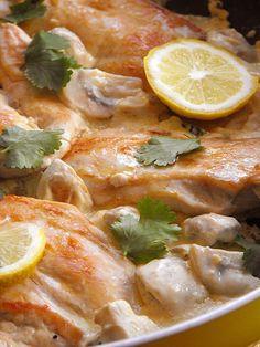 Bifinhos de frango com limão