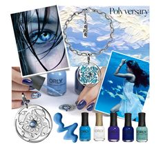 """""""Nail relax"""" by ledile ❤ liked on Polyvore featuring beauty, Post-It, Topshop, ORLY, Blue, charms, ledile and charmsbracelets"""
