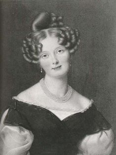 Pauline Friederike Marie, Princess of Wuerttemberg (1810-1856) spouse of Wihelm, Duke of Nassau, 1792-1839.