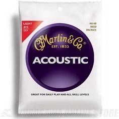 From 3.89:Martin 80/20 Bronze Acoustic Guitar Strings - Light | Shopods.com