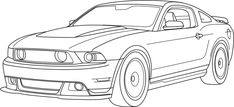 how to draw muscle cars | ... drawing hd car wallpapers 2007 chrysler sr 392 roadster drawing hd car