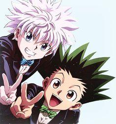 Gon & Killua ♥ hunter x hunter.:) – Hunter x Hunter Killua, Hisoka, Hunter X Hunter, Hunter Anime, City Hunter, Manga Anime, Fanarts Anime, Anime Guys, Anime Art