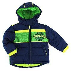 TMNT Ninja Turtles Toddler Puffer Coat Jacket (2T) Nickelodeon http://www.amazon.com/dp/B00O3GT17U/ref=cm_sw_r_pi_dp_XeAhvb1656SS7