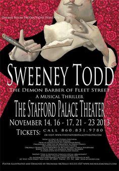Sweeney Todd | The Art of Nicholas McNally Fleet Street, Sweeney Todd, Music Lyrics, Thriller, Musicals, Art, Lyrics, Art Background, Song Lyrics