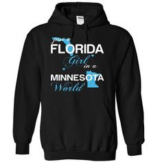 (FLJustXanh001) Just A Florida Girl In A Minnesota Worl - #student gift #novio gift. GET YOURS => https://www.sunfrog.com/Valentines/-28FLJustXanh001-29-Just-A-Florida-Girl-In-A-Minnesota-World-Black-Hoodie.html?68278