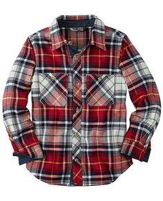 North Star Flannel Shirt from #HannaAndersson.