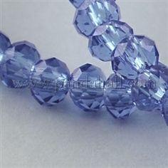 Fili di perline do vetro trasparenteGLAA-R135-3mm-16