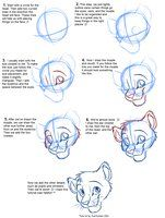 How To Draw Canines Head By Justautumn On Deviantart Character