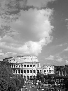 St peters cathédrale rome sunset italie b/&w panoramique toile wall art print