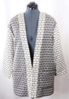 Old Navy Black and White Jacket. Be prepared for sweater weather with this jacket!