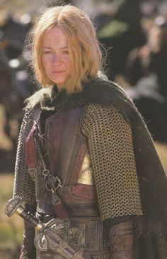 Eowyn, My Fave Character -- So baddass and so good at the same time.
