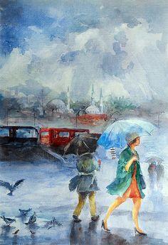 """""""Rainy Day"""" ... by Faruk Koksal"""