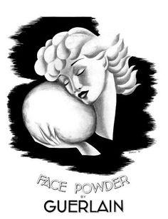 Guerlain face powder (1936)