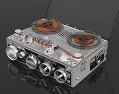 Nagra III tape recorder