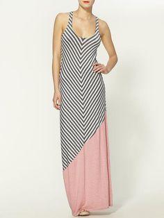 Wren Multi Stripe Maxi Dress
