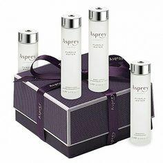 Asprey Purple Water. Fresh scent, rich body lotion.