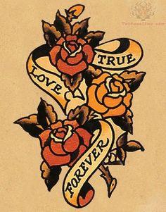forever-old-school-tattoo-design.jpg (500×639)