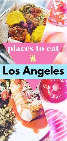 A list of the best places to eat in LA (from DTLA to West LA & the Valley), full of flavor and vegetarian, vegan, and pescatarian options for your Los Angeles trip, including Mexican, Indian, Indonesian, Filipino, Vietnamese, and Ethiopian Los Angeles restaurants. Looking for what to eat in LA? We know exactly where to eat in LA, and which LA restaurants you can't miss. eat LA - eat Los Angeles - LA food trucks - LA desserts - Los Angeles desserts - downtown LA foodie Travel Nursing Companies, California Travel Guide, California Vacation, Southern California, Los Angeles Travel, Los Angeles Restaurants, Top Travel Destinations, Best Places To Eat, Foodie Travel