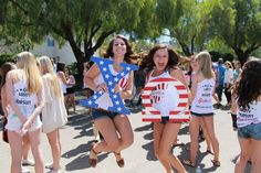 Open House 2015! // Cal Poly SLO, Chi Omega