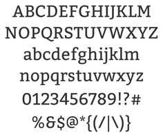 Bitter font (FREE)