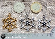 Old Prussian (Baltic) Sun charm reproduction