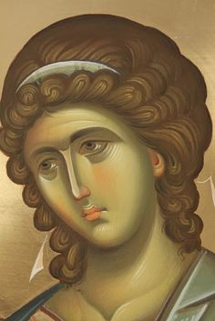Whispers of an Immortalist: Holy Angels 9 Byzantine Icons, Byzantine Art, Order Of Angels, Christian Drawings, Crafty Angels, Greek Icons, Archangel Gabriel, Jesus Art, Art Icon