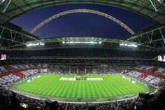 """See my first ever soccer """"futbol"""" match: Wembley Stadium. Been there in 2009 and 2010."""