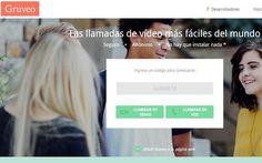 Gruveo es una utilidad web gratuita para realizar llamadas de voz y…