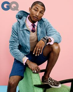 Pharrell Williams, GQ