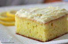 Kimba's Kitchen: Margaret Fulton's Lemon Cake Recipe