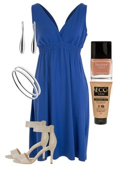Blue Blood Outfit includes Butter London, ECO Tan, and Bonbons at Birdsnest Women's Fashion