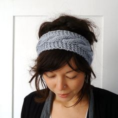 Knit headbands-winter survival