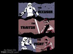 Traitor T-Shirt - http://teecraze.com/traitor-t-shirt/ -  Designed by SullyInk     #tshirt #tee #art #fashion #clothing #apparel #StarWars