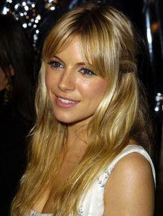 Sienna Miller langer haar in 2003 | ELLE