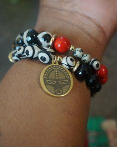 #charmbracelets #stackbracelet #braceletstack #ilovebracelets #afrocharms #theurbanelectric #urbanelectric #theurban #blackpride Urban Electric, Black Pride, Charmed, Photo And Video, Bracelets, Jewelry, Instagram, Jewlery, Jewerly