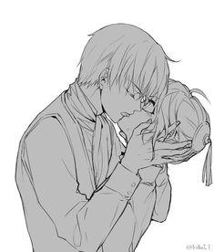 Sougo Okita x Kagura [OkiKagu], Gintama Romantic Anime Couples, Anime Couples Manga, Cute Anime Couples, Manga Anime, Anime Art, Okikagu Doujinshi, Maid Sama Manga, Gintama, Manga Cute