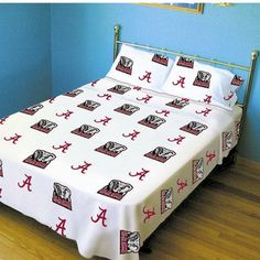 College Covers NCAA Alabama Sheet Set Size: Extra-Long Twin