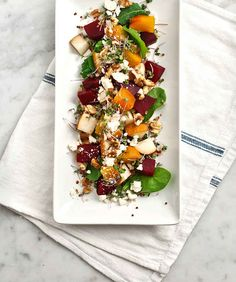 Roasted Beet, Pear, and Walnut Salad | 31 Delicious Things To Cook In January