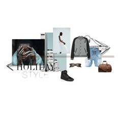 A fashion look from March 2016 featuring mens slim jacket, short mens clothing and mens leather duffel bag. Browse and shop related looks. Fashion Layouts, Daniel Wellington, Dsquared2, Versace, Ray Bans, Michael Kors, Shoe Bag, Clothing, Polyvore