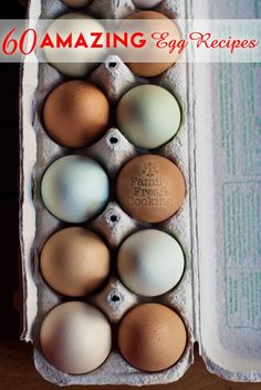 60 AMAZING Egg Recipes | FamilyFreshCookin... when you have chickens, you have plenty of fresh eggs for cooking with